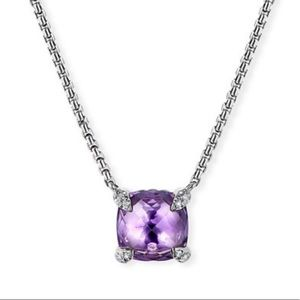 NEW🔥 David Yurman diamonds& silver necklace